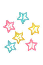 6-pack hair clips - Turquoise/Glittery - Kids | H&M CN 1